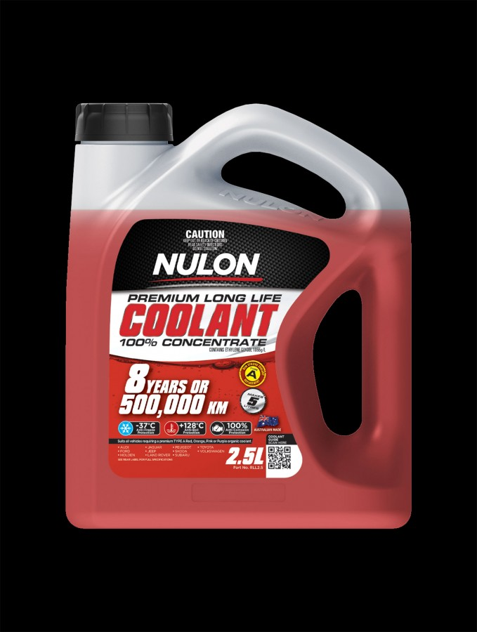 Red Premium Long Life Coolant 100% Concentrate - Nulon Products