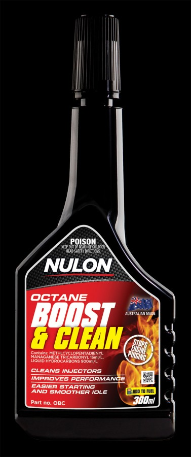 Octane Boost and Clean - Nulon Products Australia
